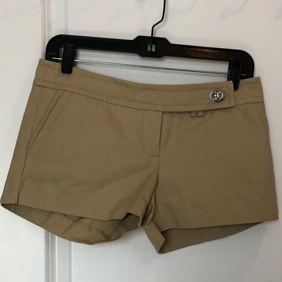 Coach Pants - COACH Khaki Shorts Sz 0 or 00